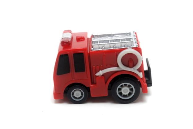 FIRE_FIRE ORIGINAL ミニミニチョロQコレクション 2.ポンプ車_005