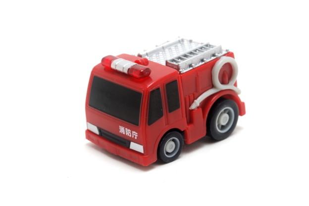 FIRE_FIRE ORIGINAL ミニミニチョロQコレクション 2.ポンプ車_001