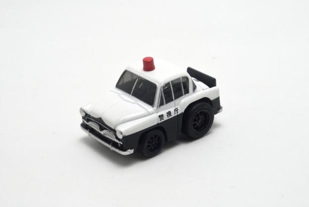 タカラトミー_ちびっこチョロQ No.43 トヨペット クラウン(RS)パトカー_001