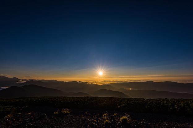 Sunrise of firmament