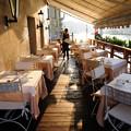 Photos: 運河沿いのレストランの朝(コンチネンタルホテル)