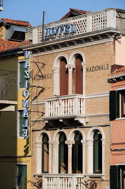 ベネチアの街角(ナチオナレホテル)
