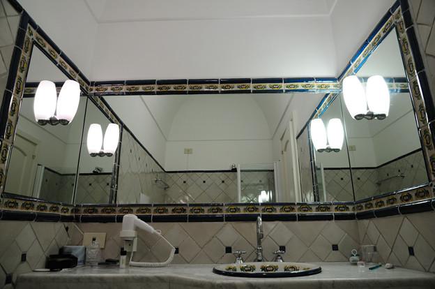 ルナコンベントホテルの洗面台