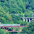 Photos: 四方津の大呼戸橋梁を行く211系普通電車