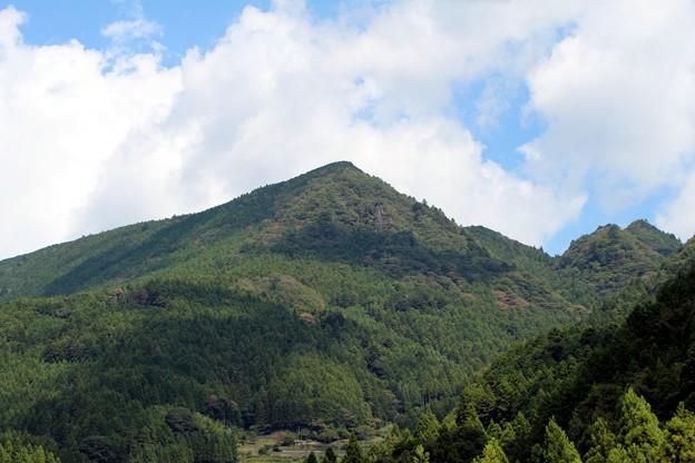 鞍掛山(標高883m)
