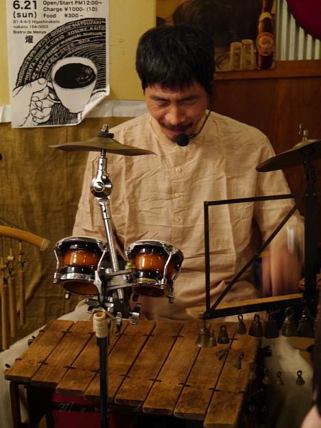 Photos: 立松正宏さんのライブ~ ビストロde麺酒場 燿@東中野 2015.06.21