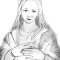 Maria〔下描き〕