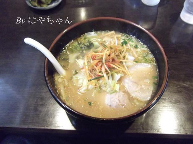 Photos: まるごらーめんのねぎ味噌ラーメン
