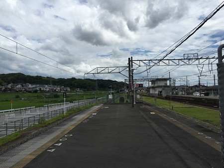 20150719JR木津駅ホーム