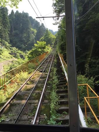 20150824高野山へのケーブルカー