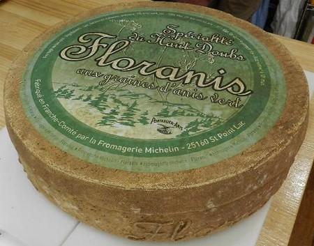 チーズ-フローラニス(フランス)