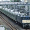EF64-1032+205系8両