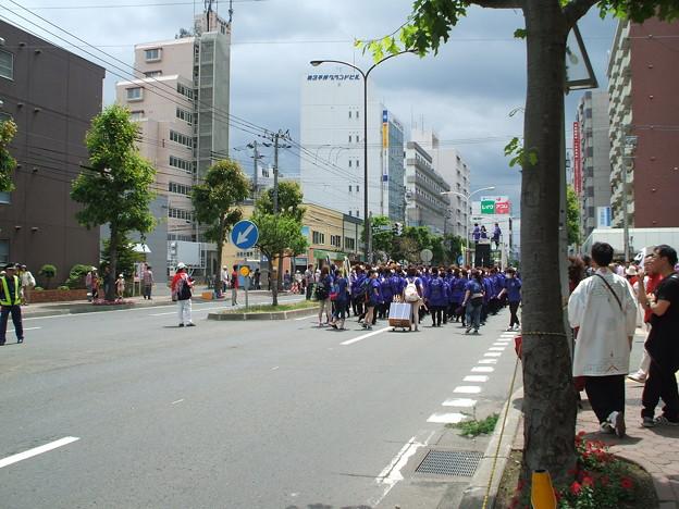20150614平岸タクシーYOSAKOI