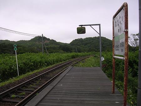 糠南駅ホーム1