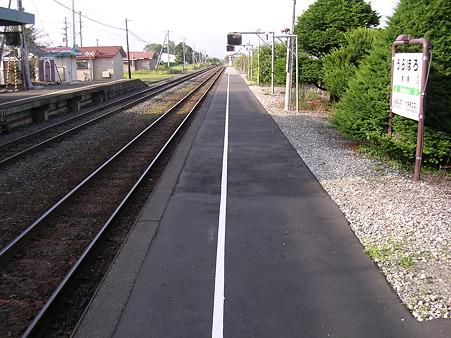 浦幌駅ホーム2