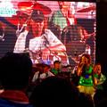 Photos: 名古屋ブラジルフェスタ 2015(1日目)No - 80:ラモス瑠偉さん率いる「ラモスバンド」の演奏(ラモスさんの娘で、歌手のFABiANAさん)