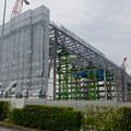 写真: 建設が進む、県営名古屋空港前の三菱の工場 - 3