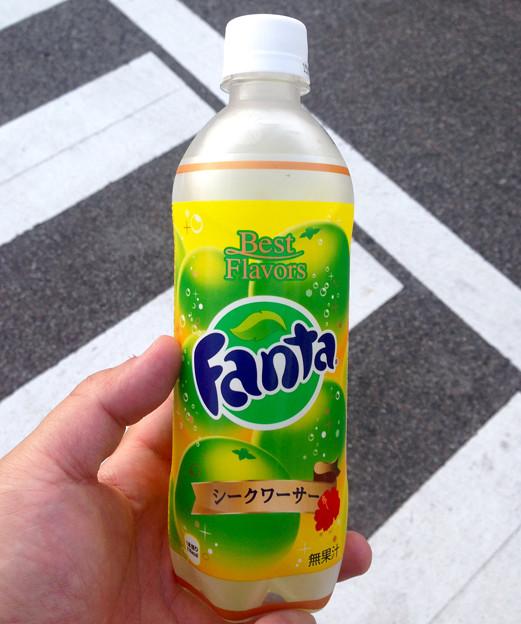 ファンタ「シークワーサー」味