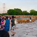 写真: 春日井市民納涼まつり 2015 No - 14:封鎖された噴水