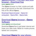 Photos: Opera Coast 4.40:Google Search Result