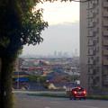写真: 高蔵寺ニュータウンから見た、名駅ビル群 - 2
