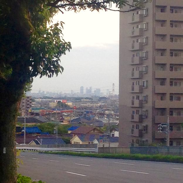 高蔵寺ニュータウンから見た、名駅ビル群 - 3