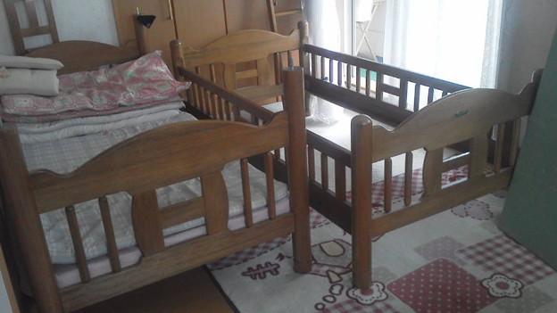 二段ベッド解体中   写真共有サイト「フォト蔵」