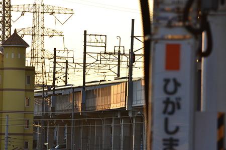JRの駅名標×スカイライナー@東松戸駅[12/28]