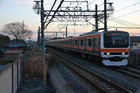 209系500番台[M71編成]@東松戸駅[12/28]
