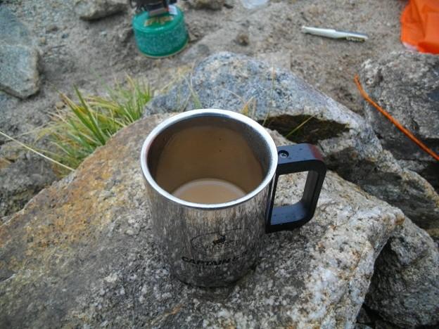 寒い日のコーヒー