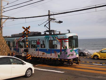 江ノ電1000形腰越~七里ヶ浜01
