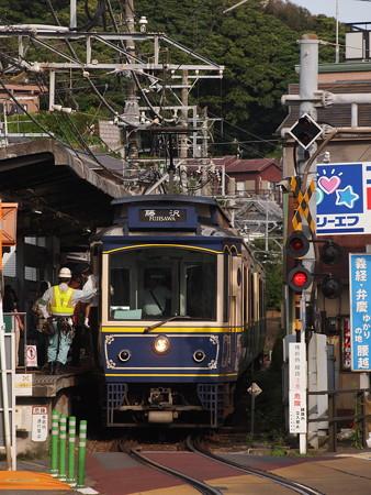 江ノ島電鉄10形 腰越駅
