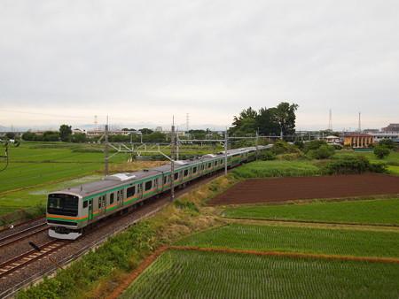 E231系普通 東北本線白岡~新白岡01