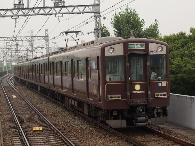 近鉄5800系区間準急 阪神なんば線大物駅