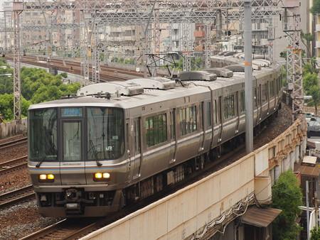 223系新快速  東海道本線神戸~元町03