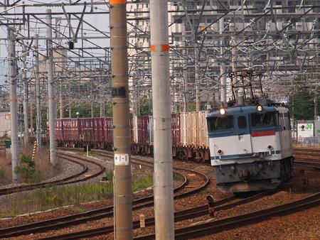 EF65貨物 東海道本線岸部駅