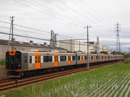 阪神1000系直通特急 山電本線藤江~林崎松江海岸