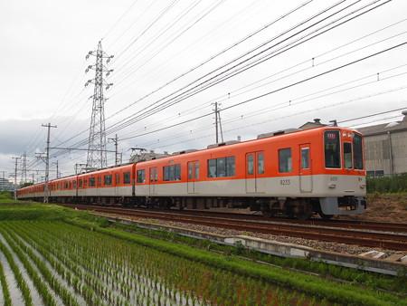 阪神8000系直通特急 山電本線藤江~林崎松江海岸02