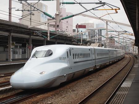 N700系さくら 山陽新幹線西明石駅01