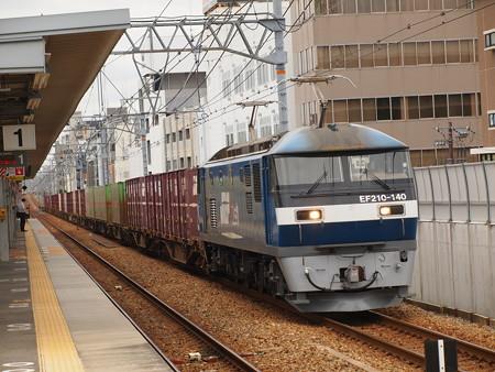 EF210貨物 東海道本線さくら夙川駅02