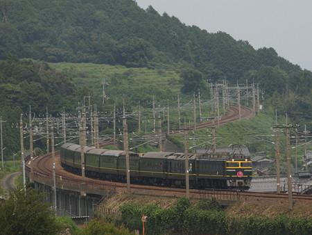 EF81 トワイライトエクスプレス 湖西線北小松~近江高島01