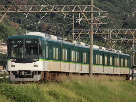 京阪10000系普通 京阪交野線河内森~交野市