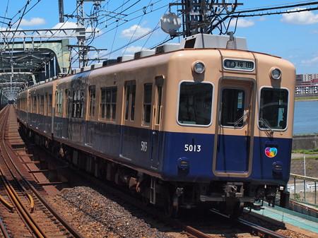 阪神5001形普通   阪神本線淀川駅02