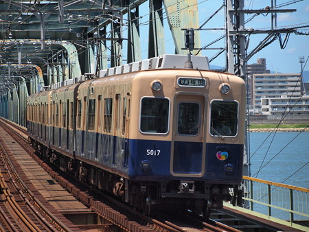 阪神5001形普通   阪神本線淀川駅04