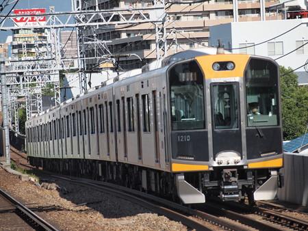 阪神1000系急行    阪神本線大物駅01