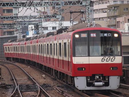 京急600形特急 京急本線平和島駅