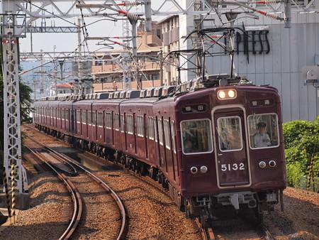 阪急5100系普通 阪急宝塚線石橋駅
