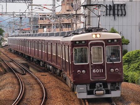阪急6000系普通 阪急宝塚線石橋駅02