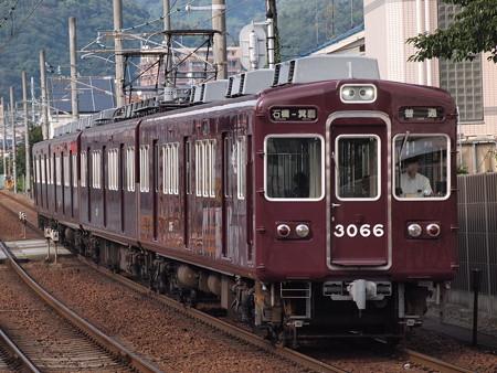 阪急3000系普通 阪急箕面線牧落駅02