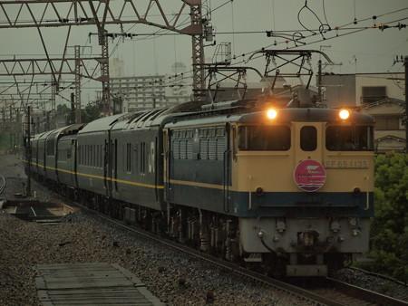 EF65 寝台特急トワイライトエクスプレス 東海道本線塚本駅